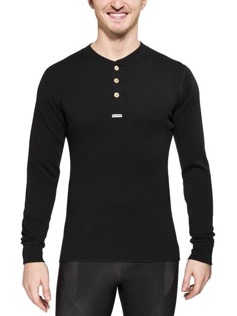 Aclima Warmwool - camiseta interior hombre - negro